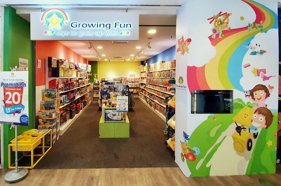Growing Fun - Educational Toys in Singapore - United Square.
