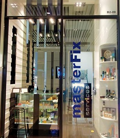 Master Fix Services - Key Duplication in Singapore - Raffles City.