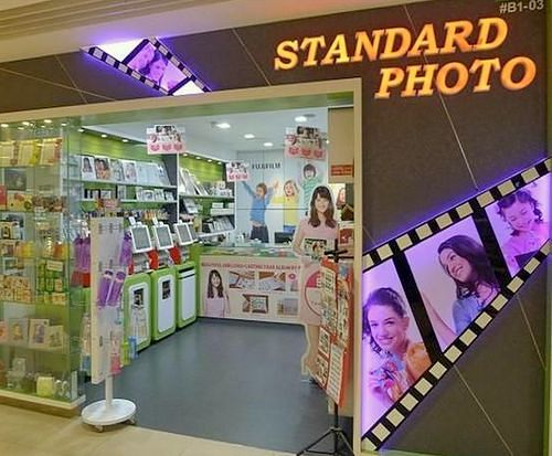 Standard Photo Lab in Singapore - Junction 8.
