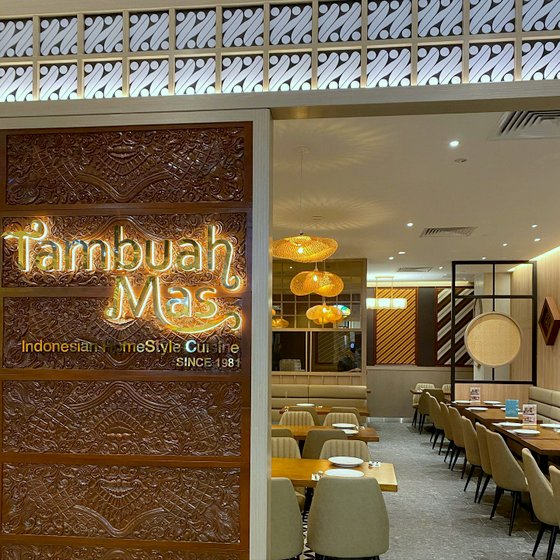 Tambuah Mas Indonesian Restaurant in Singapore - Great World.