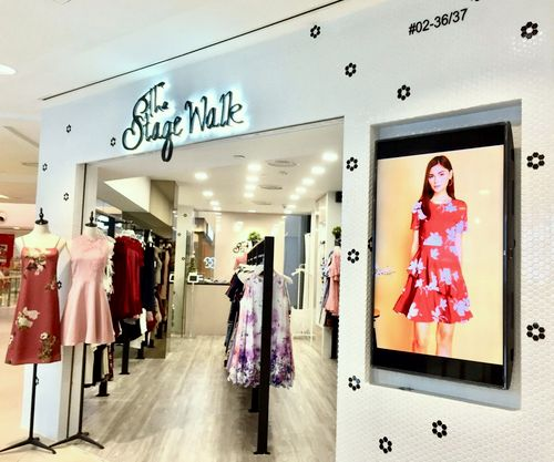 The Stage Walk - Women's Clothing in Singapore - Junction 8.