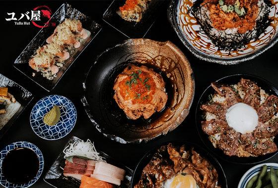 YuBa Hut Japanese Restaurant in Singapore.