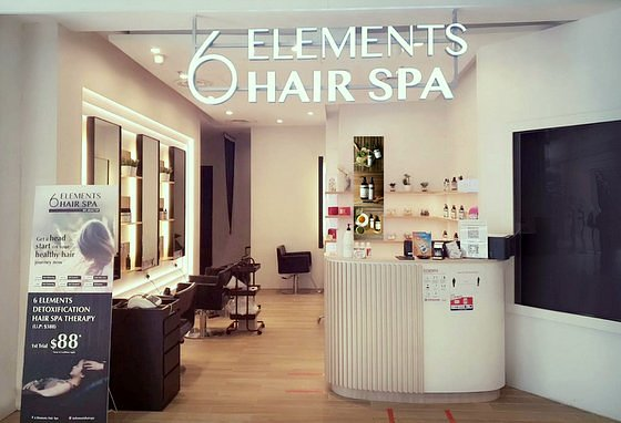 6 Elements Hair Spa - Scalp Treatments in Singapore - Jurong Point.