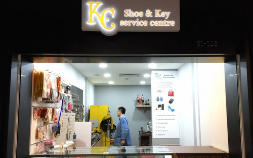 K.C Shoe & Key Service Centre in Singapore - Tiong Bahru Plaza.