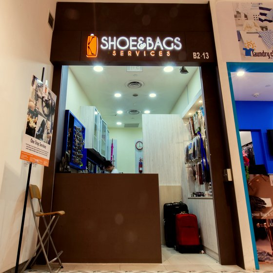 K Shoe & Bags Services in Singapore - AMK Hub.