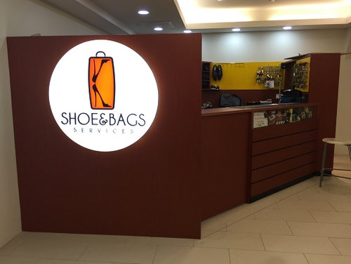 K Shoe & Bags Services outlet at AMK Hub mall in Singapore.