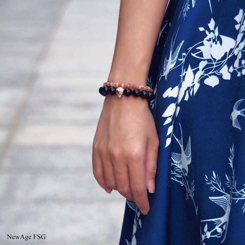 New Age FSG bracelet & charm, available in Singapore.