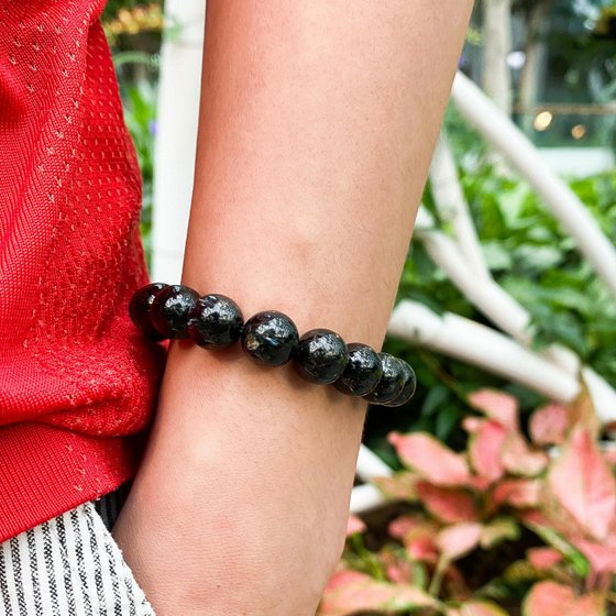 Nuummite Bracelet - New Age FSG.