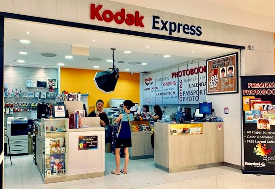 Photo Labs in Singapore - Kodak Express - Lot One Shoppers' Mall.