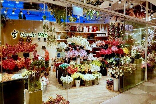 Vanda Win - Artificial Flowers in Singapore - Kinex.
