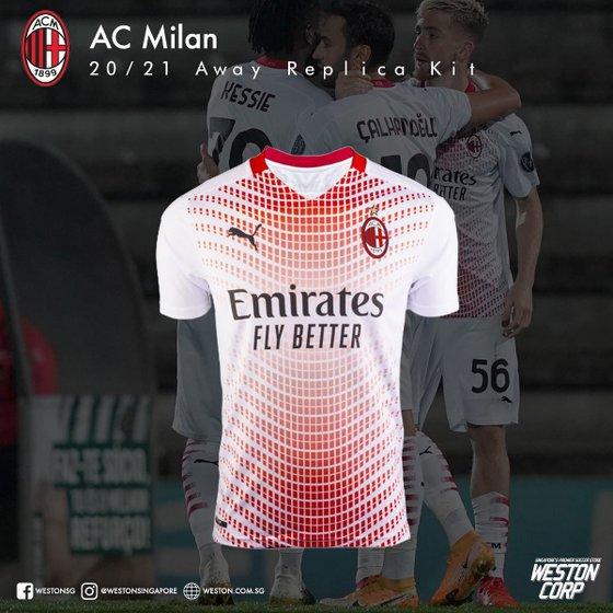 AC Milan Soccer Jersey - Weston Corp - Football Shop in Singapore.