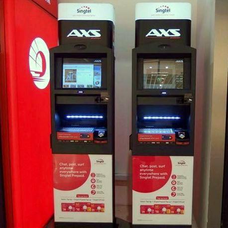 AXS Machine Locations in Singapore.