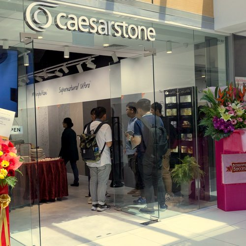 Caesarstone store at Suntec City mall in Singapore.