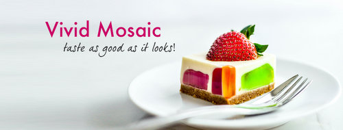 TheJellyHearts Vivid Mosaic cake, available in Singapore.