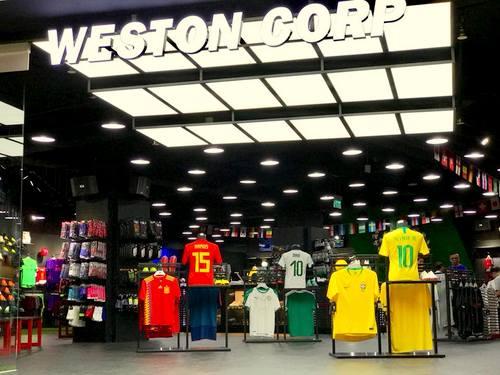 Weston Corp - Football Shop in Singapore - VivoCity.