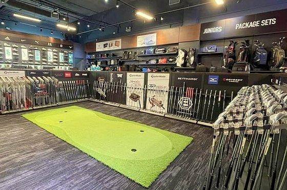 Golf Equipment in Singapore - MST Golf Store - Suntec City.