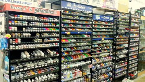 Hobby Point - Plastic Model Kits in Singapore - Bras Basah Complex.