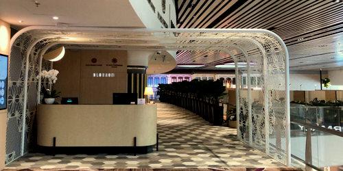 Blossom – SATS & Plaza Premium Lounge in Singapore - Changi Airport Terminal 4.