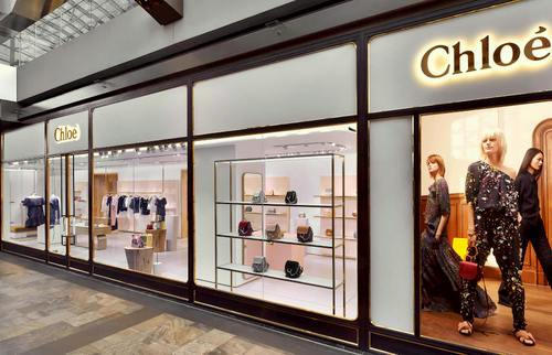 Chloé store in Singapore.