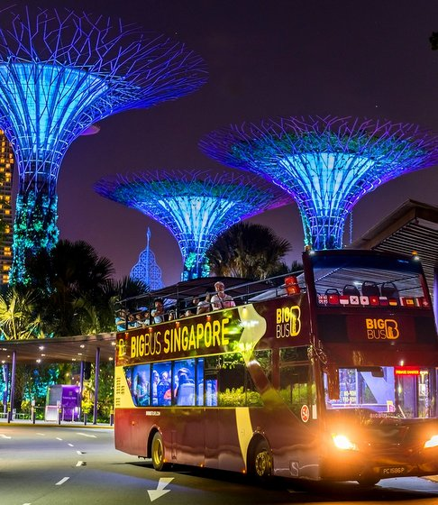 Hop On Hop Off Bus in Singapore - Big Bus Tours.
