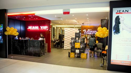 Jean Yip Hairdressing salon in Singapore.