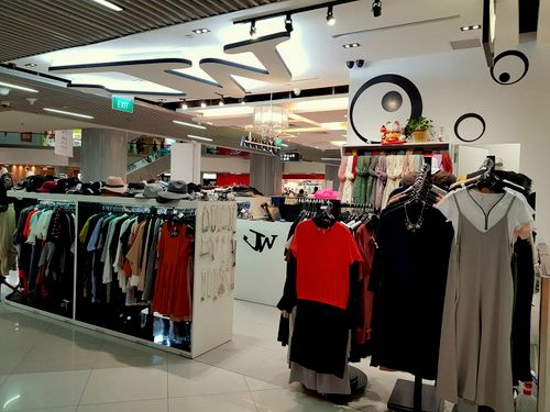 JW Fashion clothing store in Singapore.