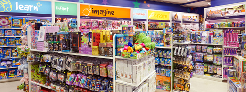 Kaboom Toy Store in Singapore - Changi Airport.
