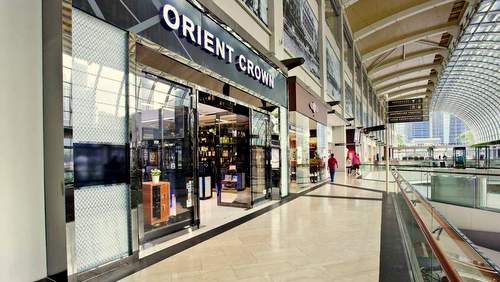 Orient Crown shop at Marina Bay Sands in Singapore.