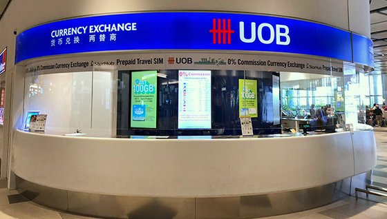 UOB Money Changer - Currency Exchange in Singapore.