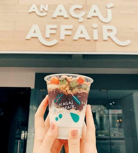 An Acai Affair outlet Singapore.