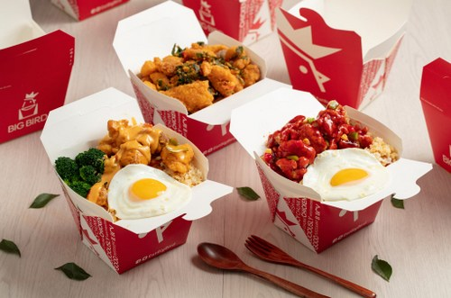 Big Bird chicken meal, available in Singapore.