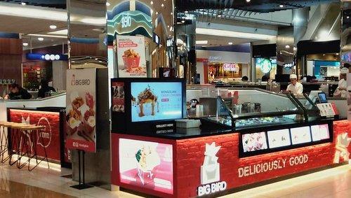 Big Bird restaurant at HarbourFront Centre in Singapore.