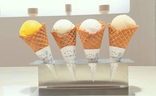 Birds of Paradise Gelato Ice Cream in Singapore.