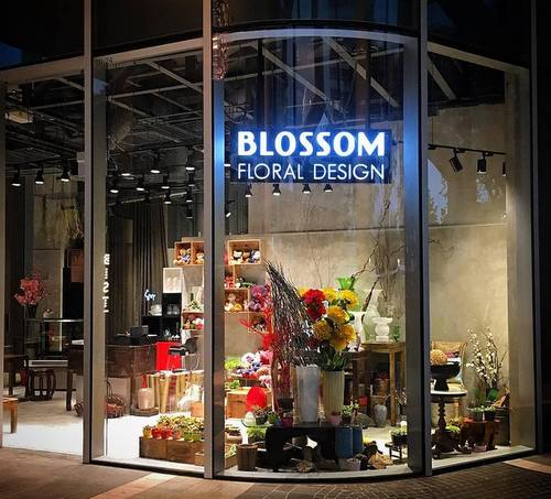 Blossom Floral Design Duo Galleria - Flower Shop in Singapore.