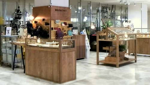 Bold&Craft accessories & jewellery store at OUE Downtown Gallery in Singapore.