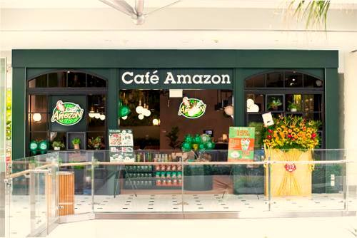 Cafe Amazon Jurong Point - Coffee House in Singapore.