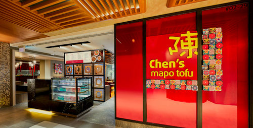 Chen's Mapo Tofu Chinese restaurant at OUE Downtown Gallery in Singapore.