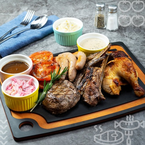 Commons restaurant's Meat Platter Hero meal, available in Singapore.