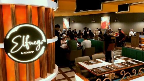 ElFuego restaurant at Jewel Changi Airport in Singapore.