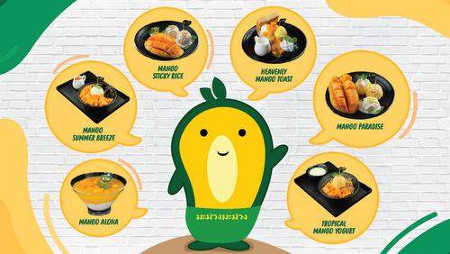 Mango Mango desserts, available in Singapore.