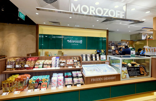 Morozoff confectionery store at Capital Square in Singapore.