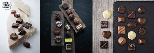 Morozoff chocolates, available in Singapore.