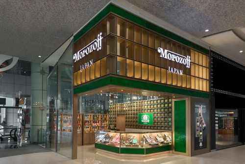 Morozoff confectionery shop in Singapore.