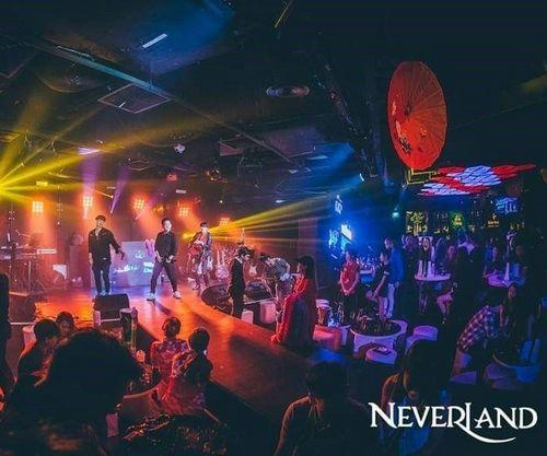 Neverland dance & nightclub at Clarke Quay in Singapore.
