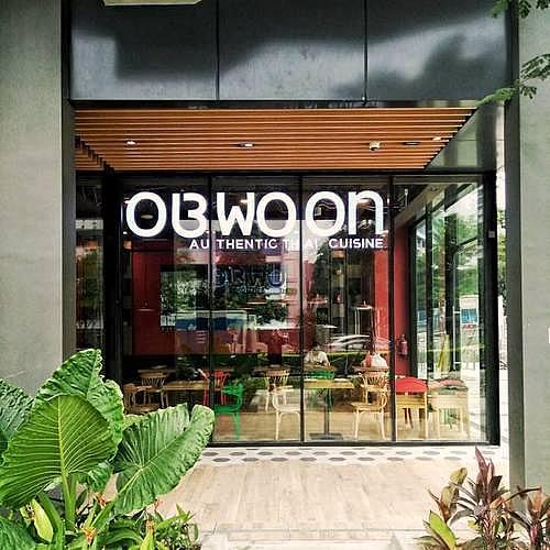 Ob Woon Thai Cuisine restaurant in Singapore.