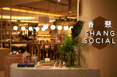 Shang Social Chinese restaurant at Jewel Changi Airport mall in Singapore.