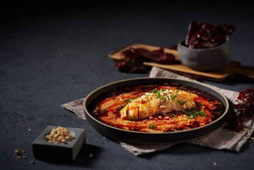 Shang Social's Chinese cuisine meal, available in Singapore.