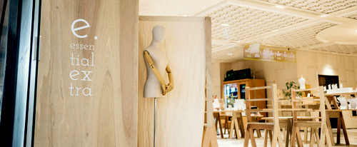 Essential Extra gift shop at OUE Downtown Gallery in Singapore.