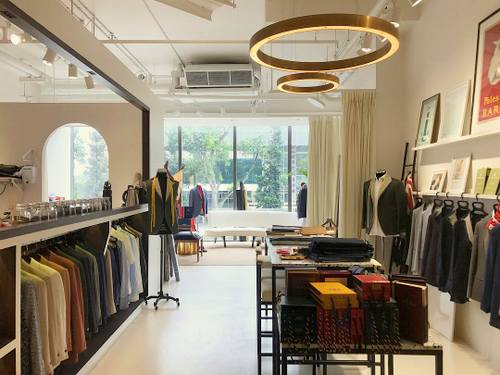 In Personam Custom Clothiers shop at OUE Downtown Gallery mall in Singapore.
