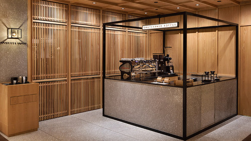 Omotesando Koffee cafe at OUE Downtown Gallery mall in Singapore.